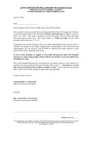 Solicitation Latter Cyf Solicitation Letter