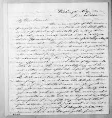 Lewis Fields Linn to Andrew Jackson, June 21, 1842 | Library of Congress