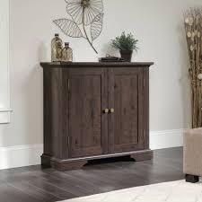 sauder new grange accent storage cabinet multiple finishes