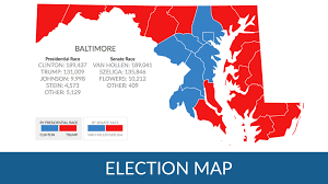 Presidental Election Results How Did Maryland Counties Vote In The 2016 Presidential Election