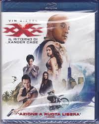 XXX ~ IL RITORNO DI XANDER CAGE Vin Diesel bollino noleggio BLU RAY NUOVO -  EUR 5,90