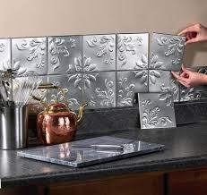 self adhesive wall tiles kitchen decor backsplash copper tone set