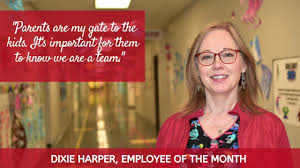 Dixie Harper-GISD Employee of the Month - YouTube