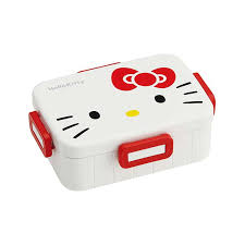 four points of lock lunch box kitty sanrio large lunch box lunch case range adaptive range ok one step one step character