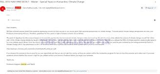 colorado professors kick deniers out we will not at any time  email