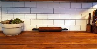 Subway Kitchen Tiles Backsplash Kitchen With White Subway Tile Backsplash In Herringbone Pattern Via