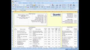 Vehicle Log Spreadsheet Quartix Vehicle Tracking System Driver Timesheet Logs In Excel Youtube