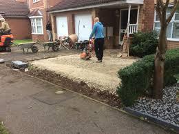 Decorative Stones For Flower Beds Driveway Extension Buff Riven Patio Low Maintenance Flower Beds