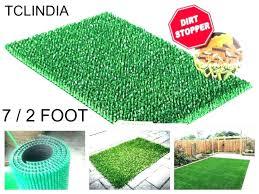 ikea grass rug green cm long pile fake