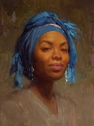 pictures oil paintings of black women art gallery