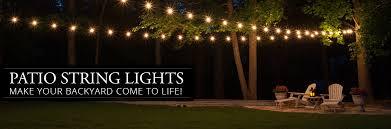 patio string lights