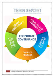 corporate governance term report karim v i
