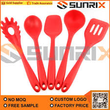 home cooking tools utensils silicone kitchen utensil set 5 piece heat resistant non stick baking tool silicone utensils cooking tools