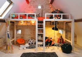 really cool kids bedrooms. Wonderful Really Delightful Really Cool Loft Bedrooms Throughout Bedroom Awesome Attic Kids  Decoholic In P