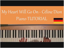 celine dion my heart will go titanic easy pian