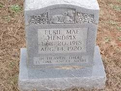Elsie Mae Hendrix (1918-1920) - Find A Grave Memorial