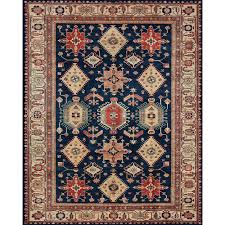 ruggable washable noor sapphire 8 ft x 10 ft stain resistant area rug