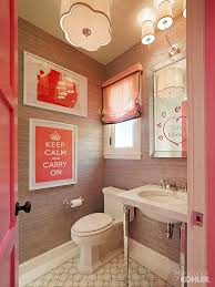 diy small bathroom decorating ideas. teen girl\u0027s bathroom with kathryn collection. #pink #bathroom diy small decorating ideas a