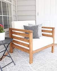 diy outdoor chair angela marie made