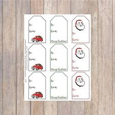 Farmhouse Printable Holiday Gift Tags Everyday Party Magazine