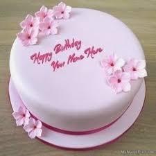 Doll Birthday Cake Girls Name Amazingbirthdaycakescf