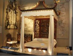 Decorations:Asian Inspired Bedroom Decorating Ideas Luxurious Traditional  Chinese Canopy Bed Furniture