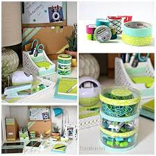 diy desk decor desk decor home design planning also elegant best tape ideas images on diy diy desk decor