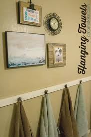 DIY Hanging Bathroom Towels Part 60