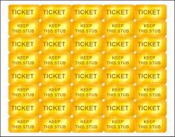 Editable Raffle Ticket Template Sampletemplatess Thefreedl
