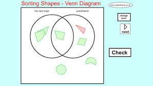 Sorting 2d Shapes Venn Diagram Ks1 Venn Diagram Shapes Under Fontanacountryinn Com
