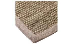 hand woven natural fiber basket weave sisal rug 8 x 10