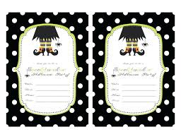 Blank Halloween Invitation Templates Halloween Invitation Template Metabots Co