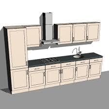 revit kitchen cabinet components