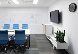 belkin office. white dominan color of belkin office design h