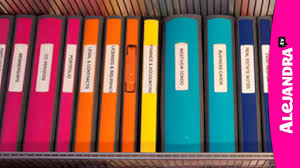 Labeling Binders Binder Organization Best Binders Dividers To Use For Home Office Or School Papers