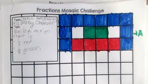 Differentiation In Art And Design Practical Differentiation With Fractions Mosaics Scholastic