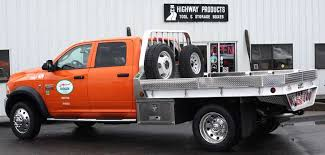Aluminum truck flatbeds and stake bodies built by Highway Products ...