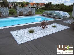 Wpc Terrassendielen Pool