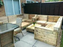 outside furniture made out of pallets making patio furniture out of pallets garden furniture made out