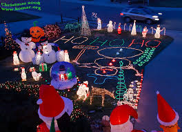 cool christmas house lighting. house front yard cool christmas lighting