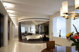 manhattan loft furniture. Manhattan Master Bedroom With Round Table And Canopy Bed Loft Furniture