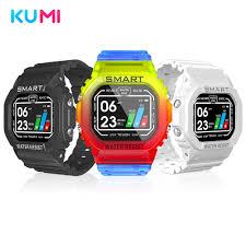 <b>KUMI</b> GW16T 1.3 inch <b>Smart Watch</b> Men Full Touch Sport Heart ...