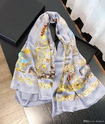 Designer Square Silk Scarves 2019 Luxury Designer Scarf Cn12 Silk Square High Quality Women New Fashion Plain Satin Silk Scarf Popular Style Hot Sale Luxury Scarf