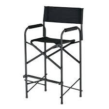 folding metal directors chairs. amazon.com : e-z up directors chair, tall black ez up chair garden \u0026 outdoor folding metal chairs c