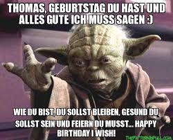 Yoda Alles Gute Zum Geburtstag Wünsche Zur Geburtstag