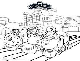 Small Picture Elegant Chuggington Coloring Pages 26 For Coloring Books with