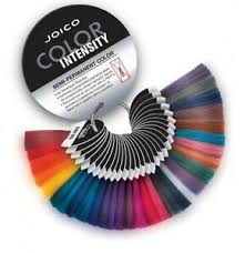 Joico Color Intensity Chart Details About Joico Color Intensity Semi Permanent Hair Color Ring Swatches 32 Swatches
