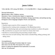 ... Smart Idea Things To Put On A Resume 7 Funny Things People Put Their  Resume ...