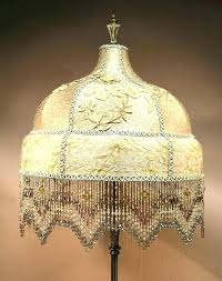 vintage fringe lamp shade fringed shades bridge best beaded lamps images on beautiful antique and candlesticks small fringe lamp shade