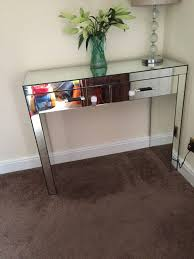 Living Room Next Mirrored Console Table Dressing Table Gumtree Next Mirrored Console Table Dressing Table In Cumbernauld